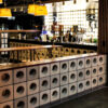 Circular Breeze Blocks - Restaurant Feature Wall Blocks - Grey 290 x 290 Blocks