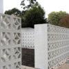 Star Breeze Blocks Feature Wall Concrete Blocks - White 290 x 290 Block