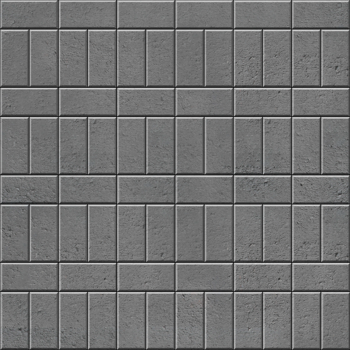 Running Stacked bond brick paver