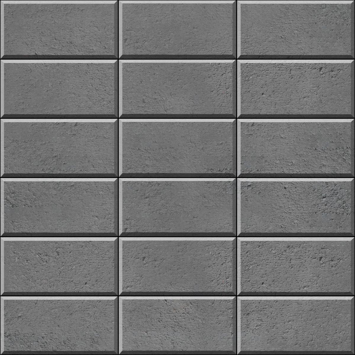 Stack Bond brick paver